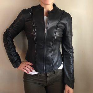 Bebe Genuine Leather Jacket